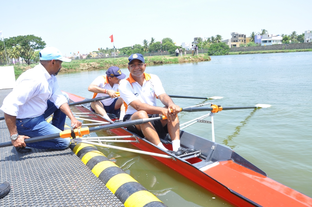 best coaching for boat rowing