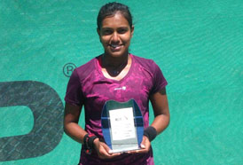 CSS powers Women Tennis Winner Nidithra Rajmohan