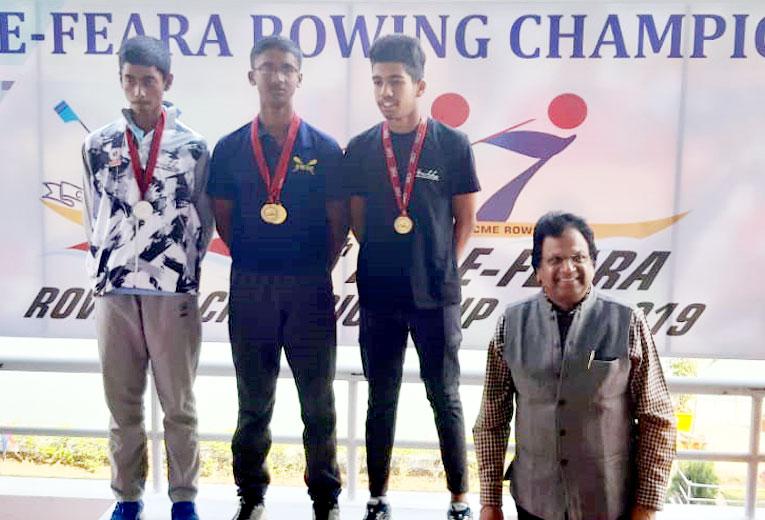SWSC's Champion Rowers