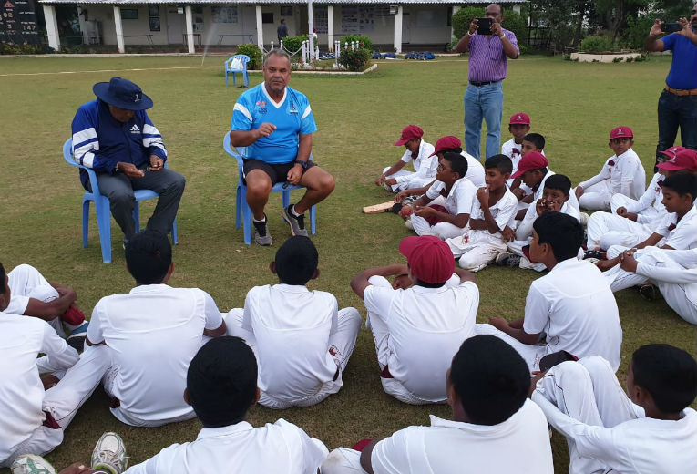 CCC School of Cricket, Sri Lanka at CSS for Christmas Camp