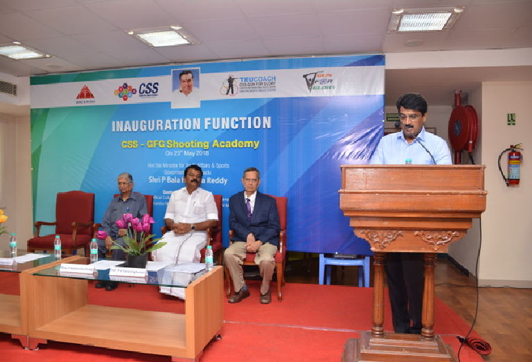 Welcome Address by Prof.Arumugam S, Director, CSS