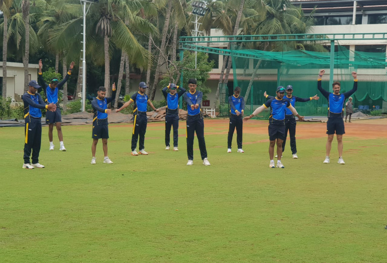Bengal Ranji Team at CSS