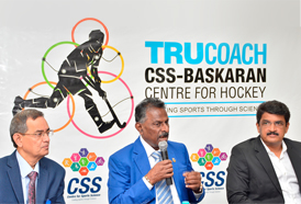 CSS ties up with Mr.V.Baskaran to start a Unique Hockey Academy