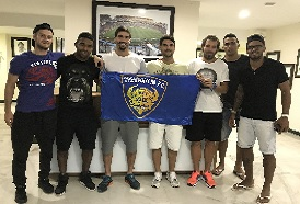 Chennaiyin FC train at the CSS