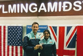 CSS trained Champion Fencer Bhavani Devi won Silver Medal in Fencing Satellite World Cup at Iceland
