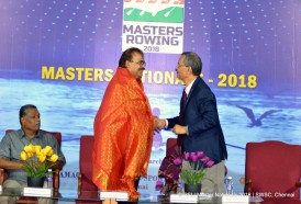 Master Nationals 2018 conducted in Sri Ramachandra Water Sports Centre - SWSC