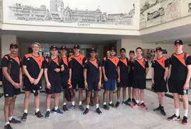 The Netherlands U-17 team had a in-depth training session to hone their skills at CSS