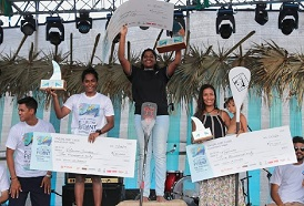 CSS student Surfer Vilassini secures 2nd place at the Covelong Point National Surf Championship