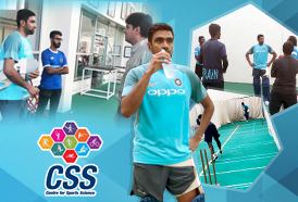 Ravi Ashwin had numerous practice stints at CSS to stay fit and gear himself up for the upcoming matches of IPL 2018