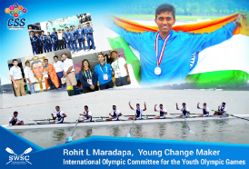 Rohit L Maradapa, Rower and Young Change Maker appointed as