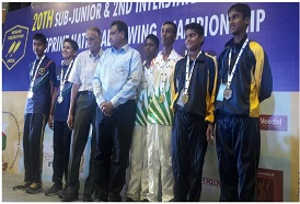 CSS trainees Naresh and Arush won bronze medal at the SWSC event